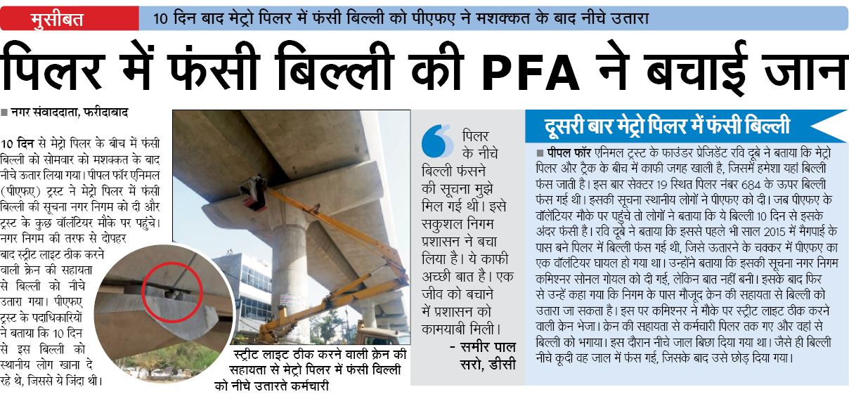 PFA Media Coverage